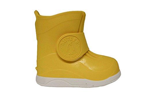 Butler–La Gumboots des Couvre-chaussures de protection qui convient aux Enfant de plus de chaussures Giallo (giallo)