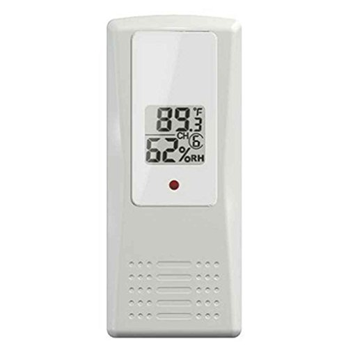 Outdoor Indoor Wireless Digital-Thermometer Thermo-Hygrometer Anzeige Emitter Temperatur Humidometer Remote Sensor Sensor Emitter