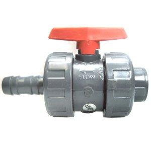 PVC Robinet avec douille de tuyau 32mm