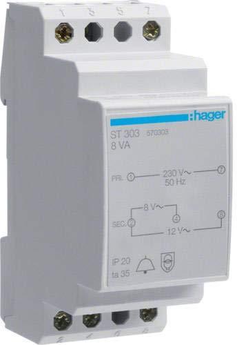 Hager ST3038VA-230/8-12V