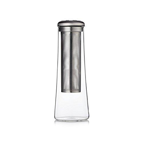 Barista Co Glas kalten Brew Karaffe–Elektrische Stahl, transparent