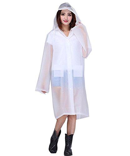 Devil Women's Transparent Overcoat Raincoat