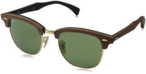 ray-ban-unisex-sonnenbrille-rb3016m-gr-large-herstellergrosse-55-braun-gestell-braun-glaser-grun-kla