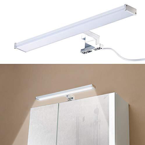 Sichler Beauty Spiegelschrankleuchte: LED-Spiegelleuchte zur Schrankmontage, 504 Lumen, 4000 K, 8 Watt, IP44 (Spiegellampe)