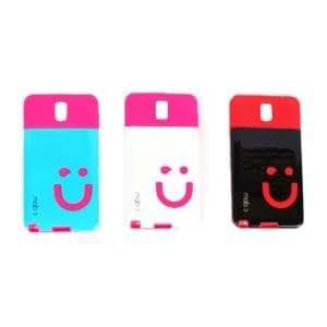 Callmate Smile Back Cover 3 pcs Combo 1 For Samsung Galaxy Note 3 - Multi color