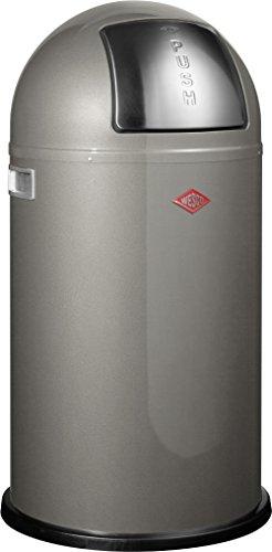 Wesco Pushboy/175 831-13 - Papelera, color gris oscuro [Importado de Alemania]
