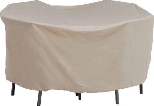 Stern 454942 Housse de protection pour regroupement ovale de chaises Nature Env. 210 x 250 x 90 cm