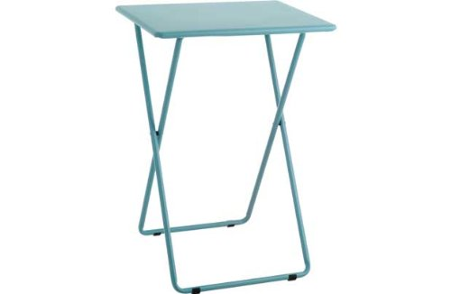 Habitat Airo Metal Folding Table - Sea Blue. for sale  Delivered anywhere in Ireland