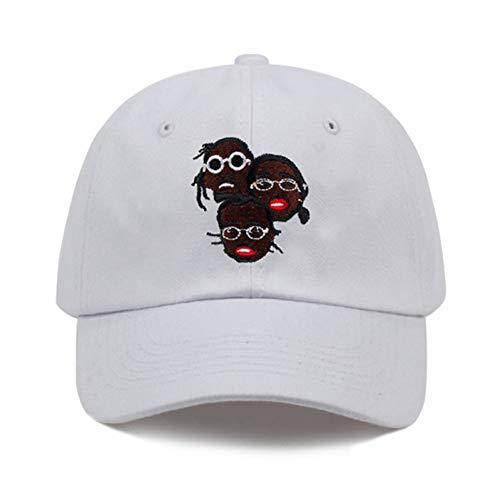 lock Papa Hut Männer Hysteresenkappe Baumwoll-Baseballmütze Für Erwachsene Männer Frauen Golf Mütze Hüte Knochen Gorra ()