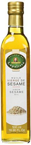 ABEL PAILLARD - HUILERIE DE LAPALISSE Huile de Sésame Vierge 500 ml - Lot de 3