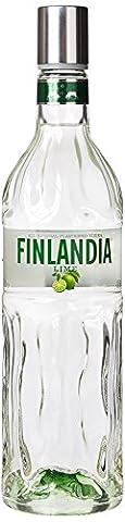 Finlandia Lime Fusion Vodka 5cl Miniature
