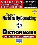 Dragon NaturallySpeaking Professional V8 + Dictionnaire Affaires & Juridique