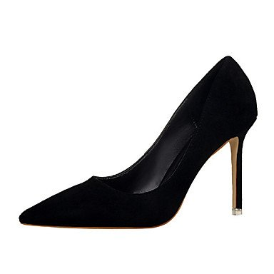 Moda Donna Sandali Sexy donna tacchi PU Casual Stiletto Heel altri nero / giallo / il verde / rosa / viola / rosso / arancio / Burgundy Altri Purple