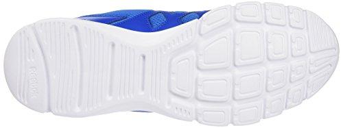Reebok - Trainfusion Nine, Scarpe sportive Uomo Blu/bianco/nero (Blue Sport/Collegiate Navy/White / Black)