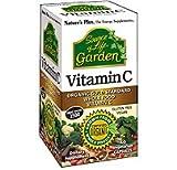 Natures Plus Garden Vitamin C 500mg , 60 Vcaps