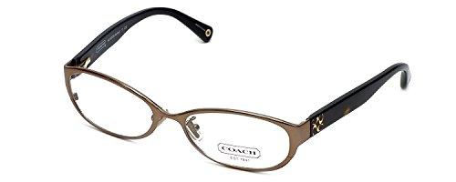 Coach Ashby Womens Designer Eyeglasses HC5029 in Sand (9002) 53mm DEMO LENS