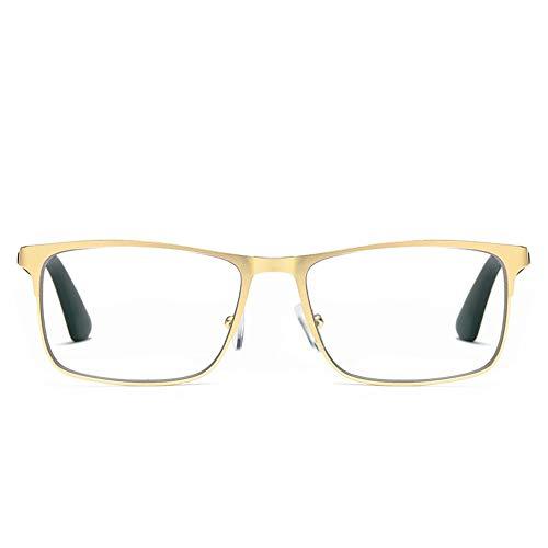 Reading glasses Progressive Multifokale Lesebrille, ErmüDungs   Bis Blaues Licht Metallrahmen Multifokale Optische LesegläSer, GläSer Strahlung Unisex Lesen