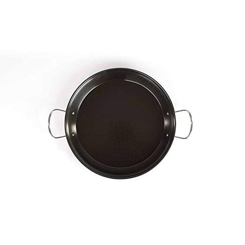 Paellapfanne Induktion 36 cm Bratpfanne Paella Pfanne (Servierpfanne, Induktionsgeeignet, Carbonstahl, Antihaftbeschichtung)