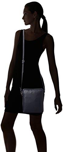Joop! - Nature Grain Daphne Shoulderbag Svz, Borsa a spalla Donna Blu (Blu scuro e)
