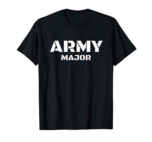 Army Major - Bundeswehr, Panzer, Armee, Uniform, Soldat T-Shirt