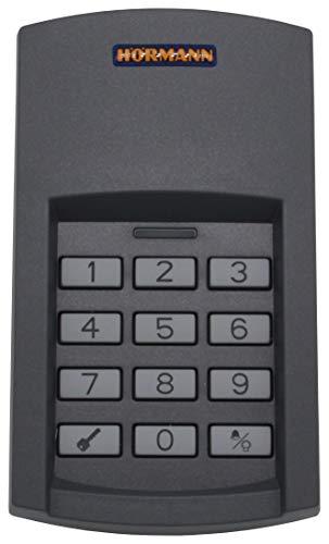 Hörmann Funk-Codetaster FCT3 BS, 868 MHz, SW-Europa, Funkfernbedienung für den Innen- und Außenbereich, zur Steuerung von bis zu 3 Torantrieben, mit beleuchteten Tasten, Art.-Nr. 436758