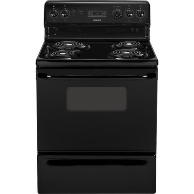 Hotpoint GIDDS-53-6567 30-inch 5 CUft Standing Electric Range (Black, 53-6567)