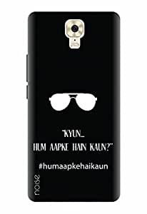 Noise Designer Printed Case / Cover for Gionee M6 Plus / Patterns & Ethnic / Hum Apke Hai Kaun Design