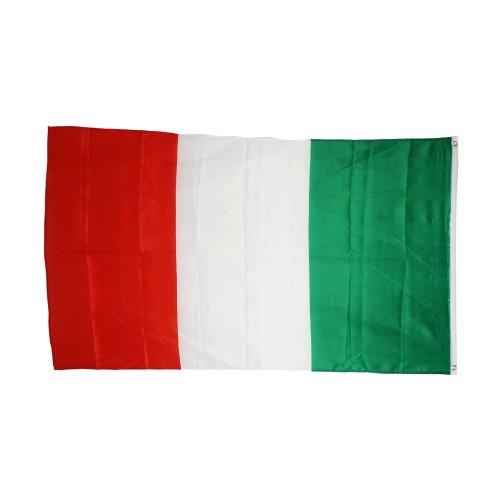 Land Italienisch (Polyester Italien Flagge 0.91 meters x 1.52 meters Flagge der italienischen Land mit Ösen, x 3 m 5 m)