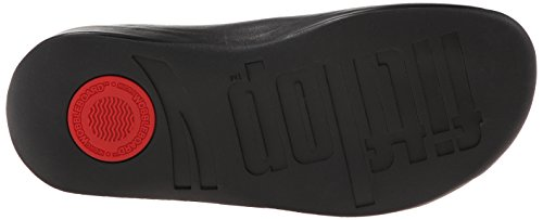 FitFlop FitFlopShuv Leather Black Shoes Black