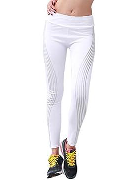 PAOLIAN Pantalones Leggings Vestir Deportivos Yoga de Mujer Verano 2018 Casual Pantalones de Vestir Danza Estampado...