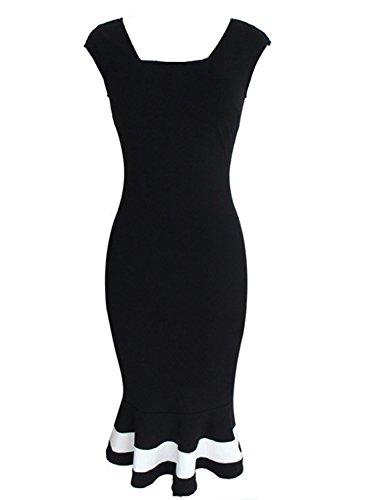 Sparkling YXB - Robe - Cocktail - Sans Manche - Femme Noir Noir Noir - Noir