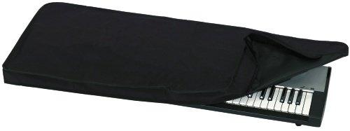 Keyboardabdeckung Economy, schwarz,  95x38x6 cm