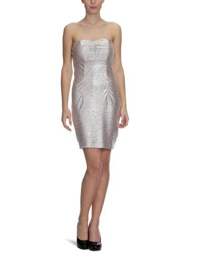 VILA CLOTHES Damen Kleid (mini), 14010592 Erico Dress, Gr. 38 (M), Hautfarben (BLOSSOM) (Mini-kleid Blossom)
