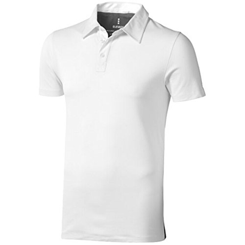ELEVATE Polo Markham blanc/anthracite