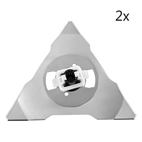 ECENCE 2X Messer Ersatzmesser für alle Robomow RS Modelle 635 Pro S 625 Pro 615 Pro 615u 81030304