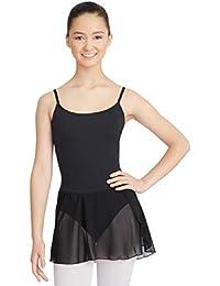 658585f4c4 Capezio Ballet Vestido Maillot con Rock para Mujer