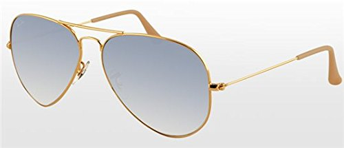 Ray Ban RB3025 - AVIATOR LARGE METAL Sunglasses Color 001/3F
