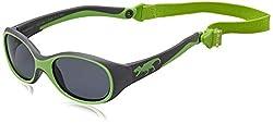 ActiveSol KINDER-Sonnenbrille   JUNGEN   100% UV 400 Schutz   polarisiert   unzerstörbar aus flexiblem Gummi   2-6 Jahre   22 Gramm [T-Rex]