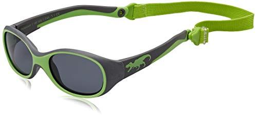 ActiveSol KINDER-Sonnenbrille | JUNGEN | 100% UV 400 Schutz | polarisiert | unzerstörbar aus flexiblem Gummi | 2-6 Jahre | 22 Gramm [T-Rex] - Sonnenbrille Kinder
