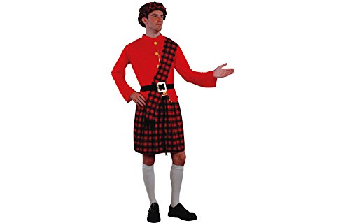 Imagen de disfraz adulto escocés