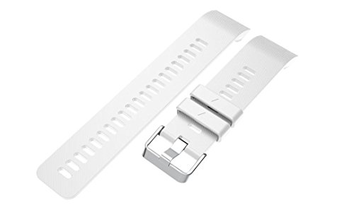 Hunpta Ersatz Armband Uhrenarmband Armband Silicagel Soft Band Strap für Garmin Forerunner 35 Uhr (Weiß) (Soft-uhr)