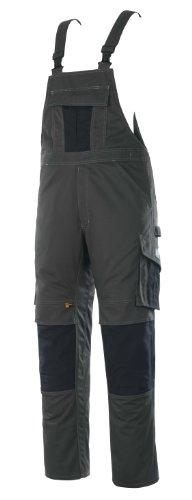 Mascot Latzhose zweifarbig mit Kniepolstertaschen, Grau/Schwarz, 44