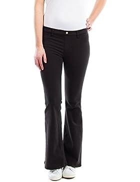 Carrera Jeans - Pantalone 767 per donna, modello bootcut, tinta unita, vestibilità normale, vita regular