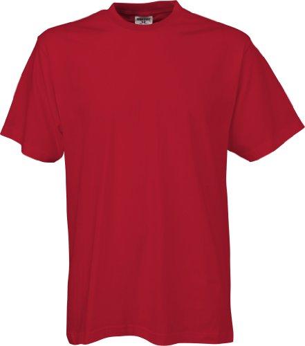 TJ8000-5 5er-Pack Tee Jays Sof-Tee T-Shirts (auch Übergrößen) Red