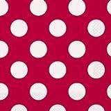 Dalbags Papierservietten Pois rot Einwegservietten zum Rendern der Sauberkeit nach der Festa wirklich schnell und günstig