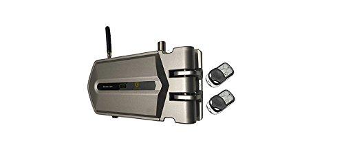 Golden Shield - Cerradura de seguridad invisible con 2 mandos