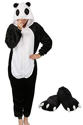e7c4b85b6a73 Pigiama Animali Cosplay Party Costume di Carnevale Halloween Tuta Unisex  Pigiama Intero OnePiece Regalo di Compleanno