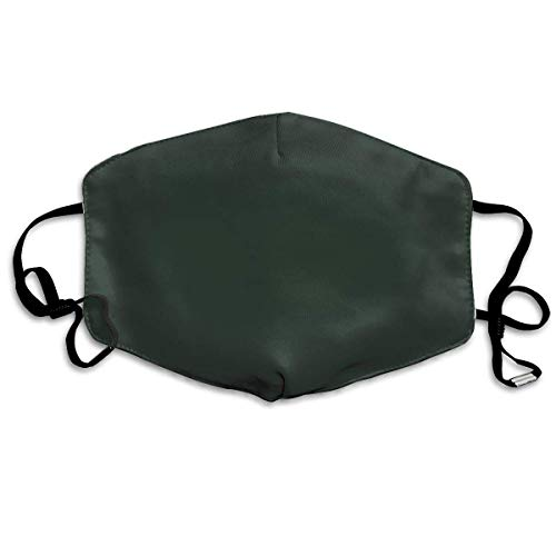 4b7e6a949 Nifdhkw Dust Mask- Stylish Black Leather Jacket Solid Color Print Reusable  Face Mask Flu Mask for Men Women