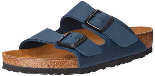 Birkenstock Herren Arizona 51751 Pantoletten, Blau (Blau), 42 EU