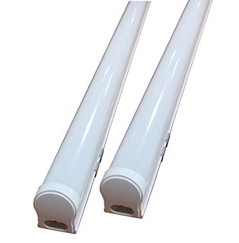 NRG CLEVER T8PL120CW, Packung mit 9 LED-Röhren Cold White T8 integriert 120CM 18W 6500K Kunststoff -
